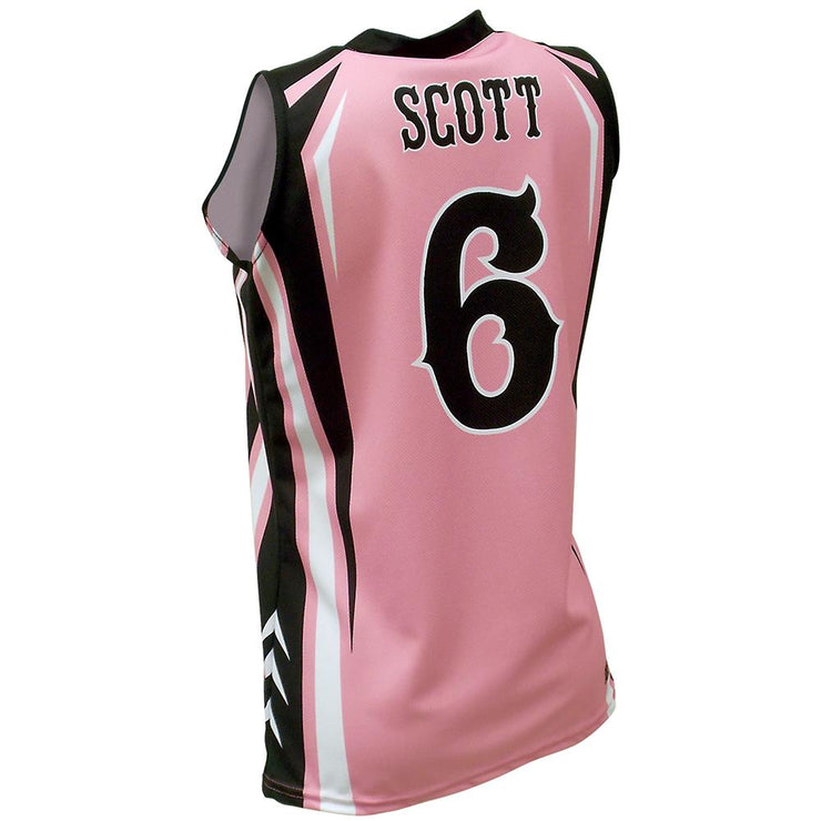 SBW 1027 - Women's Basketball Jersey - Back