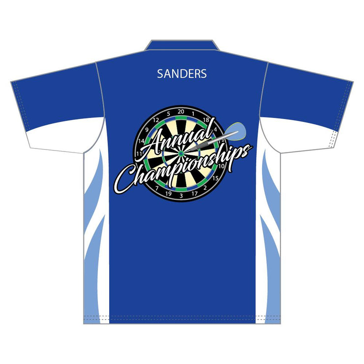 SDR 1003 - Sublimation Darts Shirt - Back