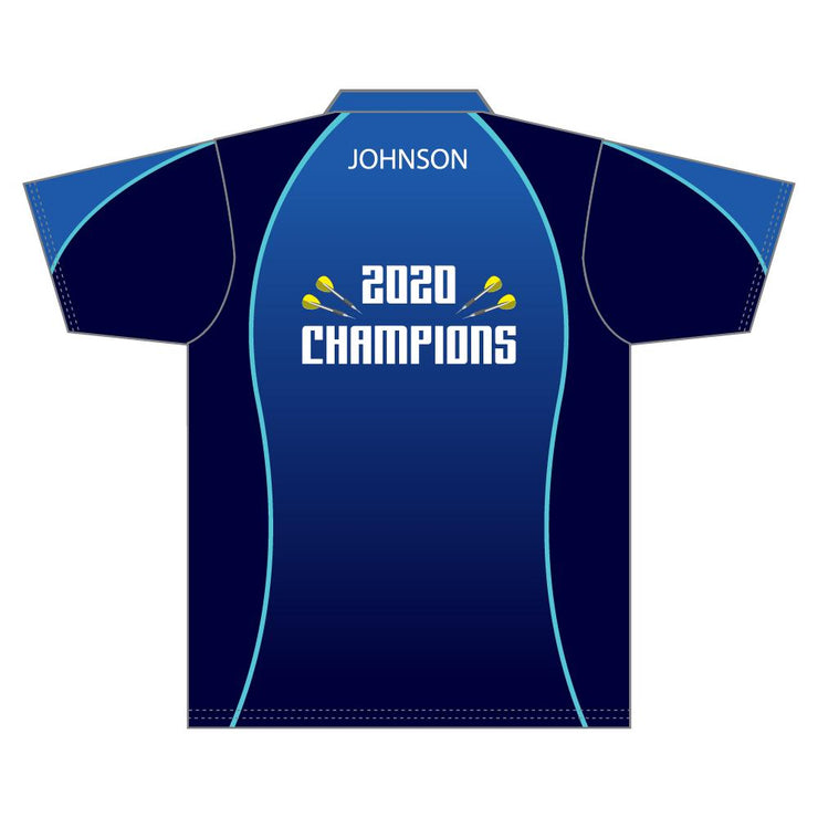 SDR 1012 - Sublimation Darts Shirt - Back