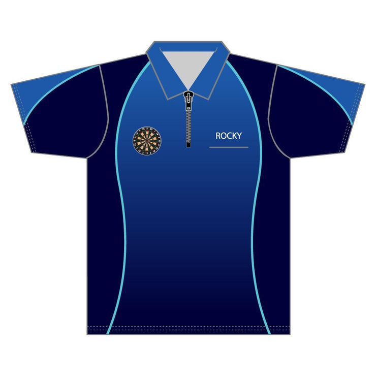 SDR 1012 - Sublimation Darts Shirt