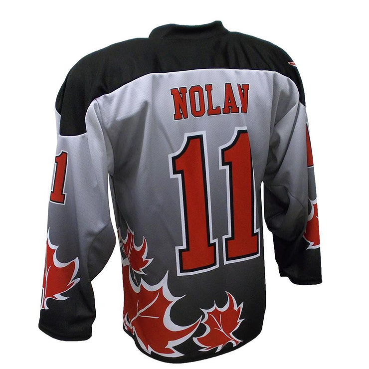 SHK 1009 - Hockey Jersey - Back