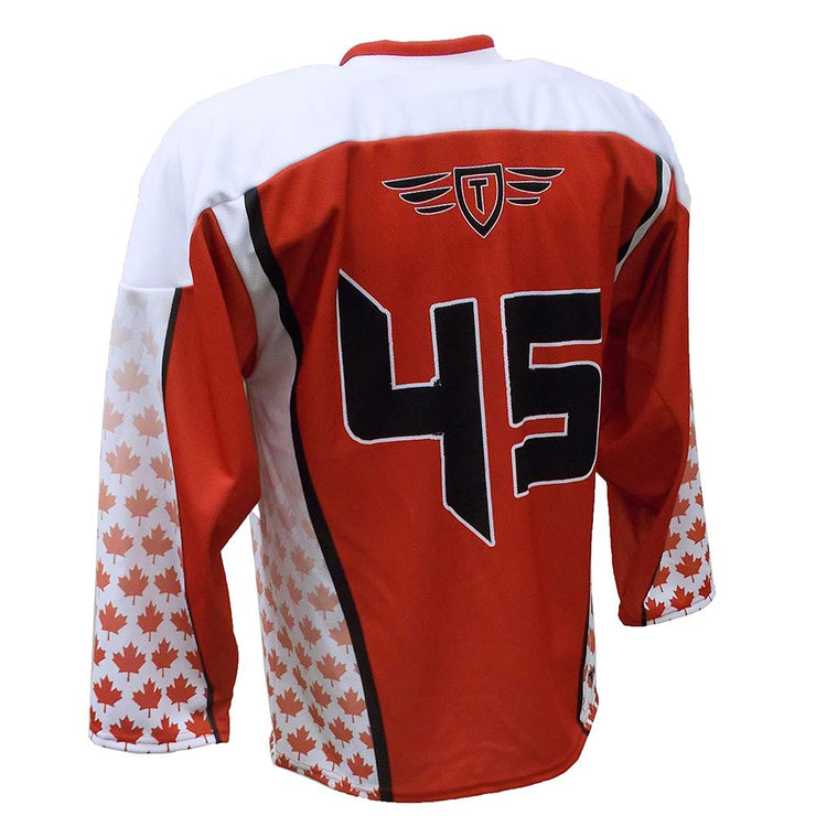 SHK 1074 - Hockey Jersey - Back