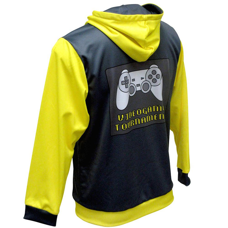 SHP 1007 - Sublimation Hoodie - Back