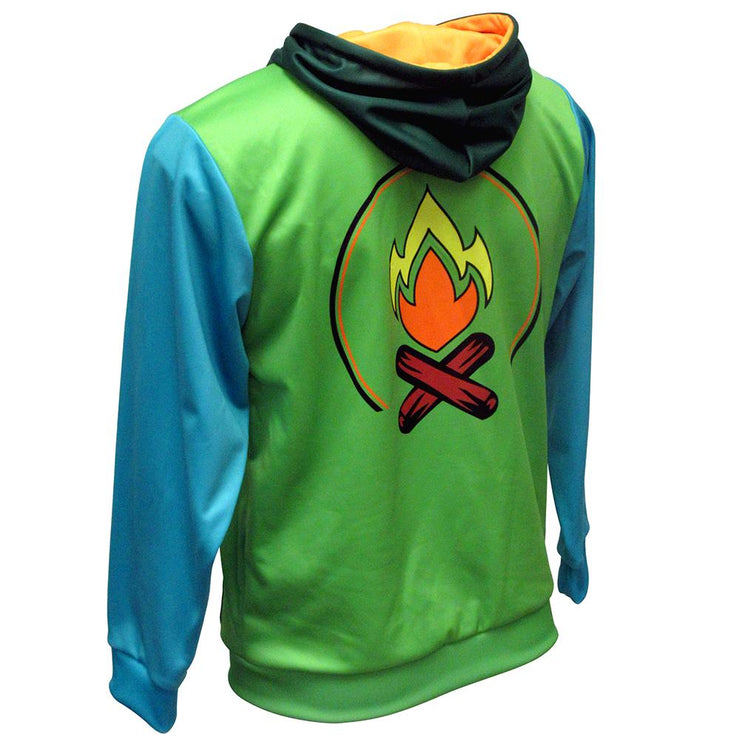 SHP 1008 - Sublimation Hoodie - Back