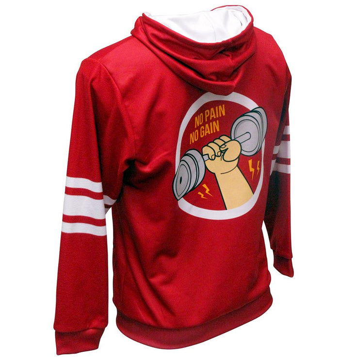 SHP 1010 - Sublimation Hoodie - Back