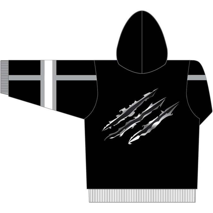 SHP 1013 - Sublimation Hoodie - Back