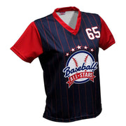 SLS 1044 - Women's Softball Jersey