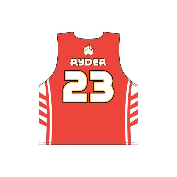 SPN 1112 - Sublimation Pinnie - Back