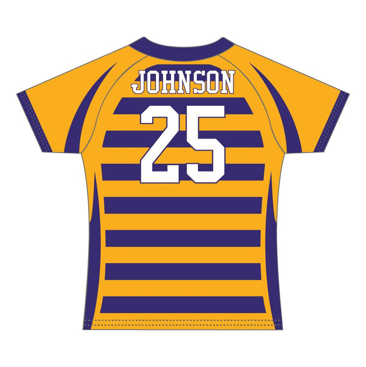 SRG 1009 - Sublimation Rugby Jersey - Back