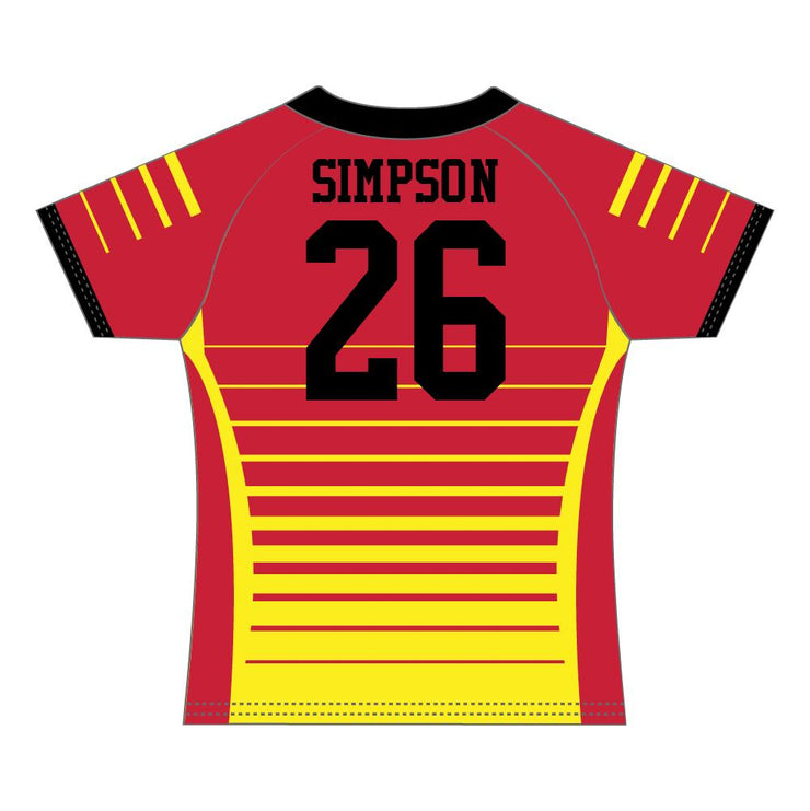 SRG 1011 - Sublimation Rugby Jersey - Back