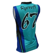 SVB 1078 - Women's Volleyball Jersey - Back
