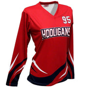 SVB 1101LS - Women's Long-Sleeve Volleyball Jersey