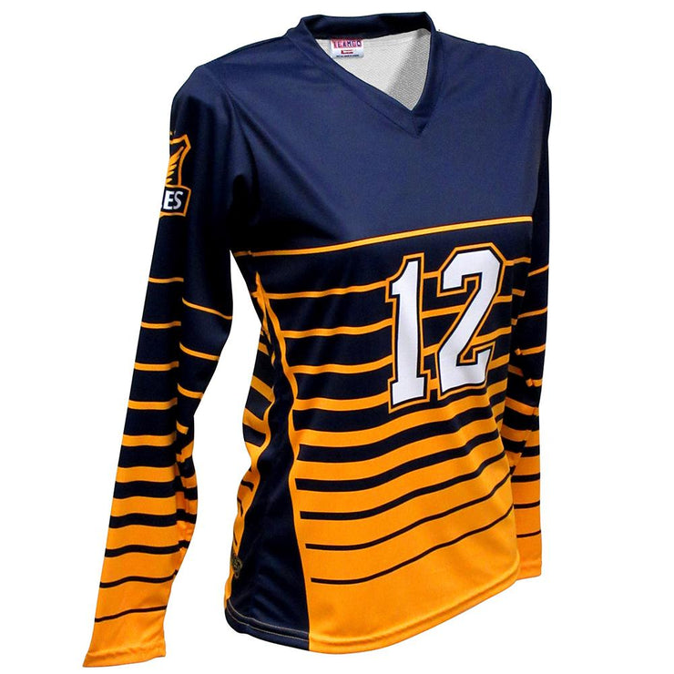 SVB 1106LS - Women's Long-Sleeve Volleyball Jersey
