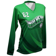 SVB 1109LS - Women's Long-Sleeve Volleyball Jersey
