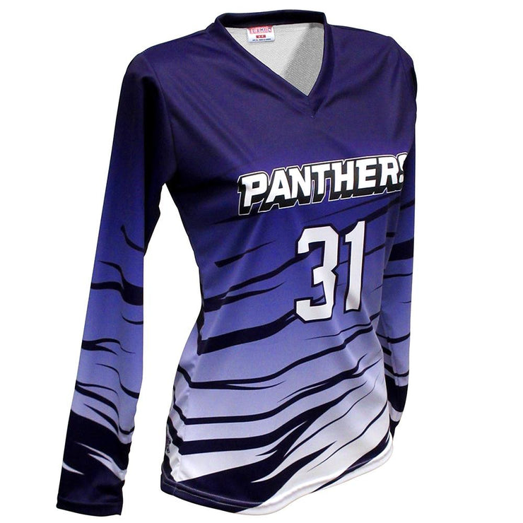 SVB 1115LS - Women's Long-Sleeve Volleyball Jersey