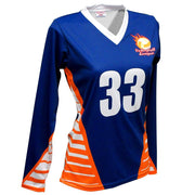 SVB 1116LS - Women's Long-Sleeve Volleyball Jersey