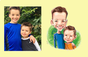 Gift Caricature, Caricature from photo