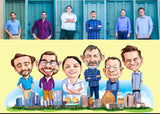 Group/Team Caricature