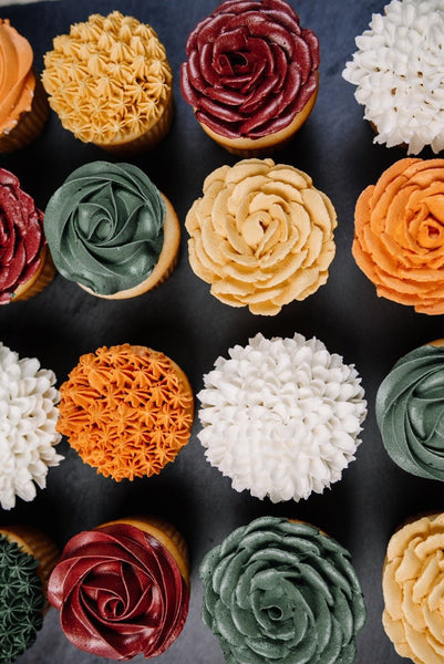 Fall Themed Cupcakes (12)