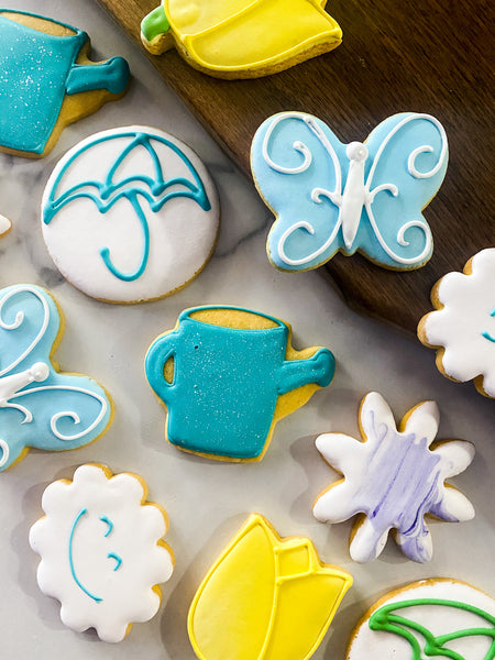 Hand Piped Sugar Cookies (12)
