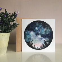 Load image into Gallery viewer, Starry Sky Greetings Card
