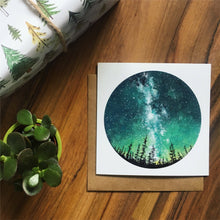 Load image into Gallery viewer, Forest Sky Greetings Card