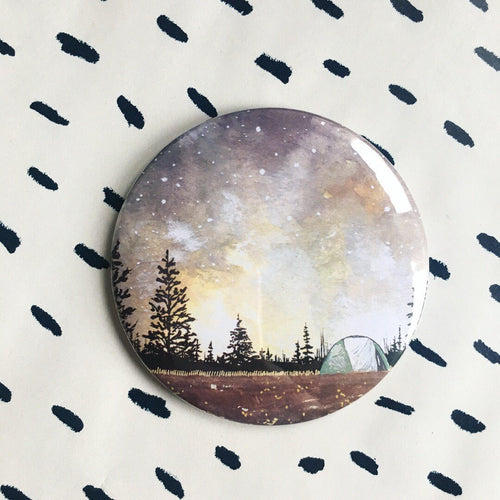 Autumn Camping Magnet