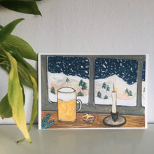 Load image into Gallery viewer, Winter Beer - Limited Edition Mini Print A5