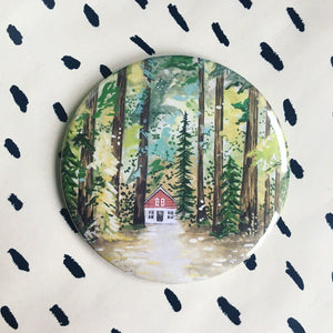 Cabin In The Woods Magnet
