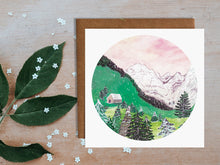 Load image into Gallery viewer, Austrian Mountains Greetings Card