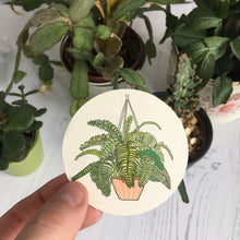 Load image into Gallery viewer, Fern Paper Sticker
