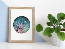 Load image into Gallery viewer, Cherry Blossom Watercolour Art Print