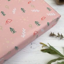 Load image into Gallery viewer, Pastel Pink Camping Giftwrap