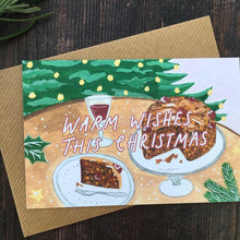 Load image into Gallery viewer, Recycled Christmas Cake Card
