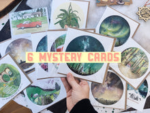 Load image into Gallery viewer, 6 Mystery Cards For You!
