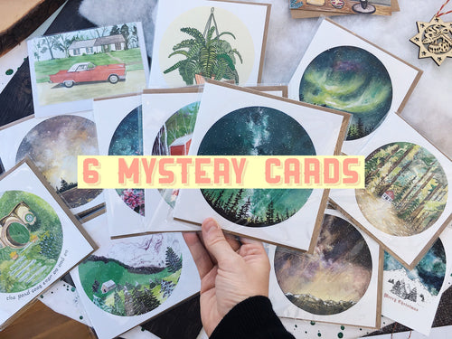6 Mystery Cards For You!