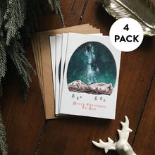 Load image into Gallery viewer, Scandinavian Christmas Cards Pack | Christmas Card Set - Pack of 4
