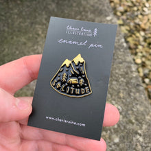 Load image into Gallery viewer, Solitude Enamel Pin