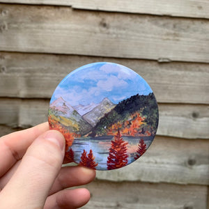 Rocky Mountains Magnet