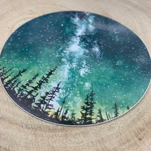 Load image into Gallery viewer, Forest Sky Scandinavian Sticker