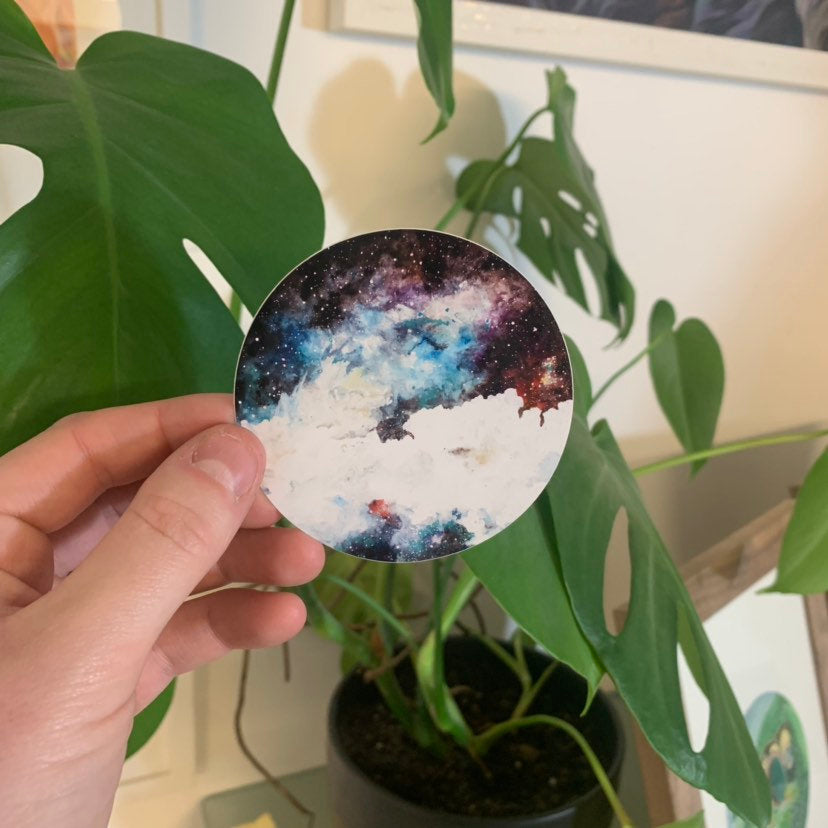 Nebula Vinyl Sticker