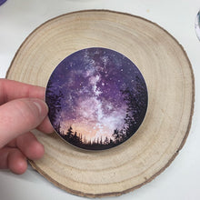 Load image into Gallery viewer, Perseid Meteor Shower Vinyl Sticker