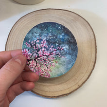 Load image into Gallery viewer, Cherry Blossom Vinyl Sticker