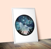 Load image into Gallery viewer, Limited-Edition Starry Sky Giclee Print A2