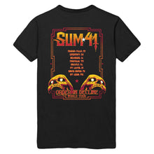 Load image into Gallery viewer, Sum 41 Skull Drip Silhouette tee