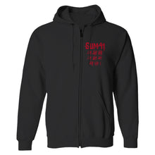 Load image into Gallery viewer, Order In Decline Zip Hoodie