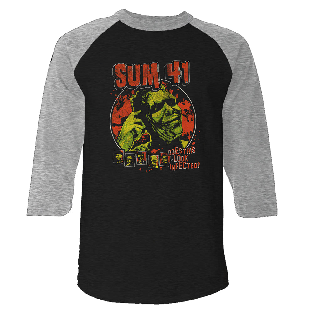 Does This Look Infected Raglan Tee-Sum 41