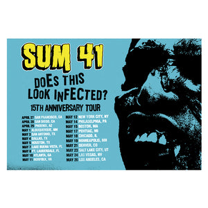 Does this Look Infected? 15th Anniversary Poster-Sum 41