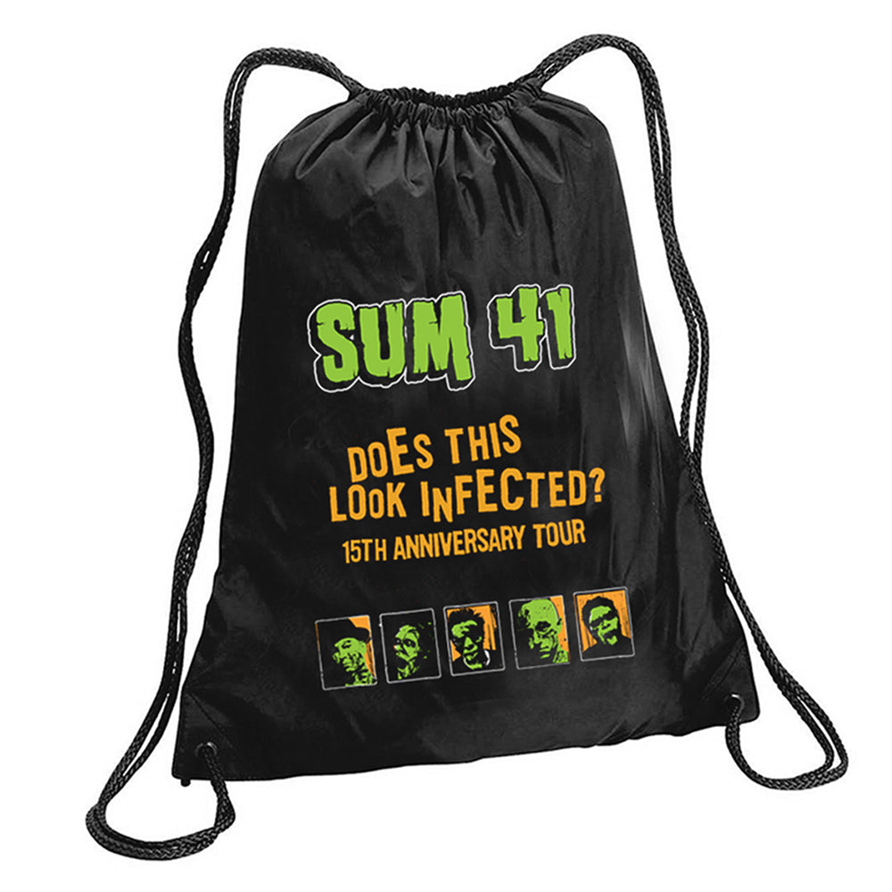 Does This Look Infected Cinch Bag-Sum 41