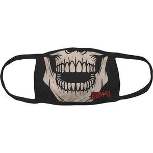 Sum 41 Skull Jaw Face Mask